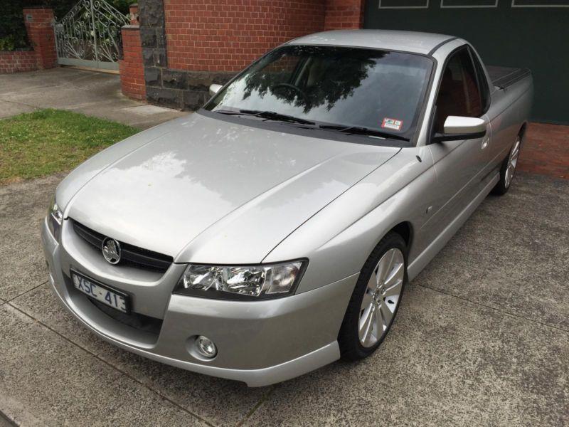2007 VZ SV6 Holden Commodore Manual Ute  Buy Sell Rent Cars