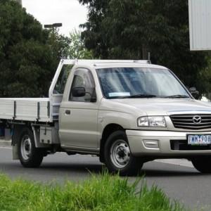 2005 MAZDA BRAVO DX CAB CHASSIS