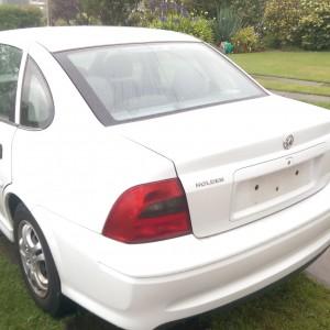 2001 Holden Vectra auto – 6 month rego