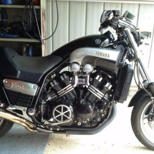 """SELL / SWAP 95 CUSTOM VMAX 1200cc STREETFIGHTER """"NEEDS TO GO"""""""