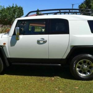 2012 Toyota FJ Cruiser Wagon