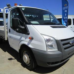 2007 Ford Transit Single Cab Trayback
