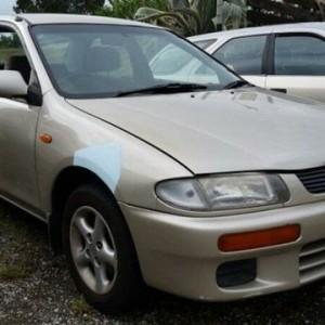 1996 Mazda 323 Protege Gold 4 Speed Automatic Sedan