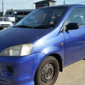 2002 Daihatsu YRV M201 Blue 5 Speed Manual Wagon