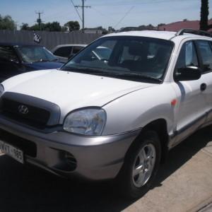 2001 Hyundai Santa Fe Wagon