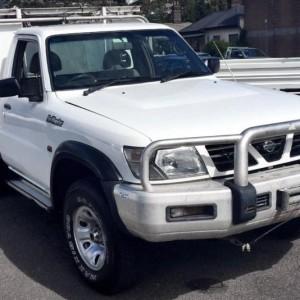 2001 Nissan Patrol Ute 'SIX WHEELER 4.2TD ST'
