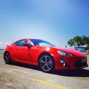 2013 TOYOTA 86 GTS ZN6 MY14 6 SP AUTO SEQUENTIAL 2D COUPE 2.0L