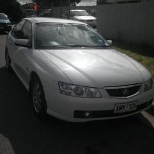 2004 Holden Berlina vy 11 White 4 Speed Automatic Sedan