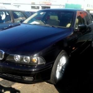 1996 BMW 528i Sedan (Reg: D09YY)