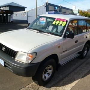 1997 Toyota Landcruiser Prado RV6 4×4 Wagon