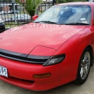 1990 Toyota Celica SX Red 4 Speed Automatic Coupe