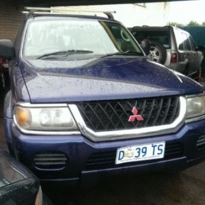 2001 Mitsubishi Challenger 4×4 Wagon