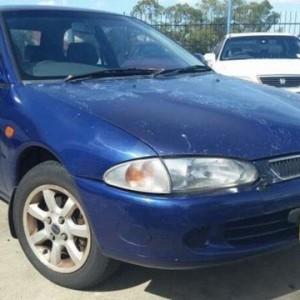 1998 Proton Satria XLI Blue 5 Speed Manual Hatchback