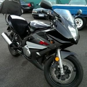 2009 Suzuki GS500F Motorcycle