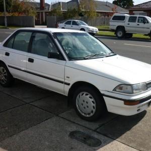1989 Toyota Corolla Sedan