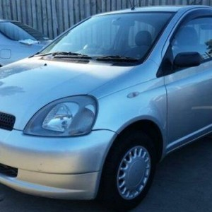 1999 Toyota Echo NCP10R Silver 5 Speed Manual Hatchback
