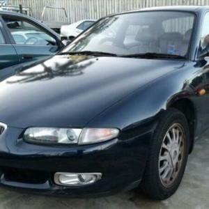 1997 Mazda Eunos 500 Blue 4 Speed Automatic Sedan