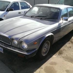 1983 Jaguar XJ6 Sovereign Sedan.