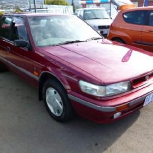 1990 Nissan Pintara Ti Superhatch Hatchback.
