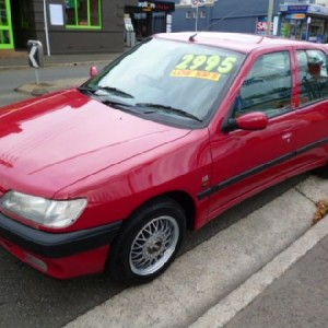 1997 Peugeot 306 XT Hatchback