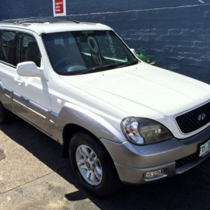 2005 Hyundai Terracan 4×4 Wagon