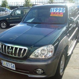 2003 Hyundai Terracan Wagon
