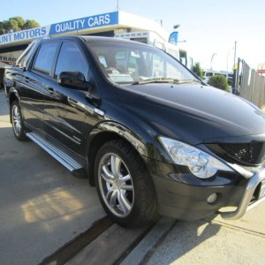 2007 Ssangyong Actyon Sports Ute 4×4 Automatic