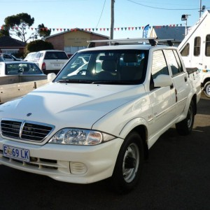 2004 Ssangyong Musso 4X4 turbo diesel