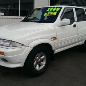 1997 Ssangyong Musso 4×4 Wagon
