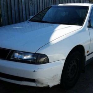 1998 Mitsubishi Magna TF Advance White 4 Speed Automatic Sedan