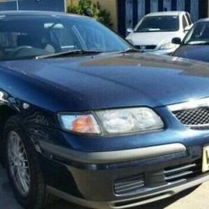 1999 Mazda 626 40th Anniversary Blue 4 Speed Automatic Hatchback