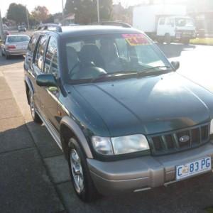 2001 Kia Sportage Wagon