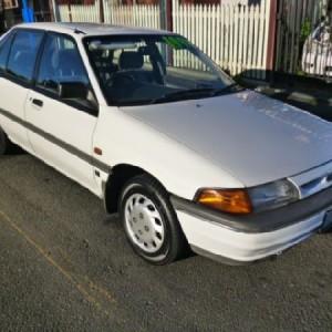 1992 Ford Laser GL Hatchback