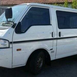 2000 Mazda E2000 SH92 (SWB) White 5 Speed Manual Van