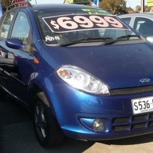2011 Chery J1 Hatchback