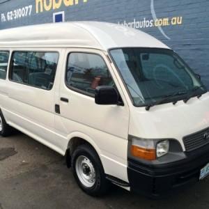 2002 Toyota HiAce Commuter Bus
