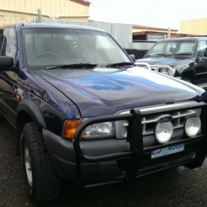 2000 Ford Courier Crew Cab GL 4×4 Utility