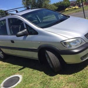 2003 Holden Zafira Wagon