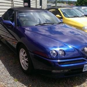 2002 Alfa Romeo Spider Twin Spark Convertible