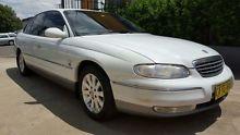 2001 Holden Statesman WH V6 White 4 Speed Automatic Sedan