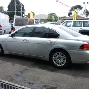 2002 BMW 735i LOW K'S Sedan ($175,000 WHEN NEW.)
