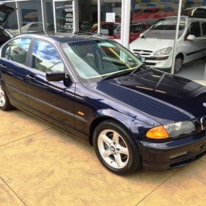 1998 BMW 328I E46 Blue 5 Speed Auto Steptronic Sedan