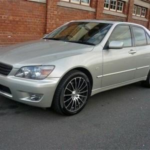 2005 Lexus IS200 GXE10R MY04.5 Sports Silver 6 Speed Manual Sedan