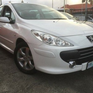 2007 Peugeot 307 T6 XS White 5 Speed Manual Hatchback