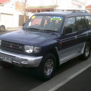 1997 MITSUBISHI PAJERO AUTO SEVEN SEATER