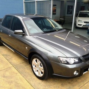 2004 Holden Crewman VY II Cross 8 Graphite 4 Speed Automatic