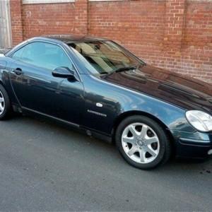 1998 Mercedes-Benz SLK230 Kompressor R170 Blue 5 Speed Automatic Roadster