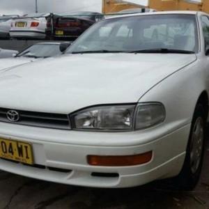 1997 Toyota Vienta VCV10 CSi White 4 Speed Automatic Sedan