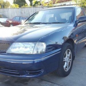 2000 Toyota Avalon MCX10R Conquest Blue 4 Speed Automatic Sedan