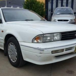 1993 Mitsubishi Verada KR EI White 4 Speed Automatic Sedan